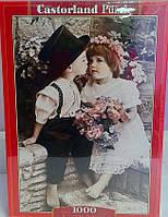 Пазлы 1000 Детки Первый поцелуй 103362 Castorland Польша