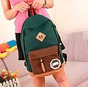 Рюкзак женский MM (зеленый), фото 3