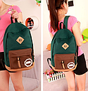 Рюкзак женский MM (зеленый), фото 4