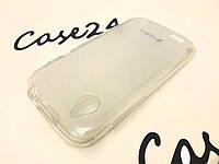 TPU накладка Melkco для HTC Desire V T328w / Desire X T328e прозрачный + пленка