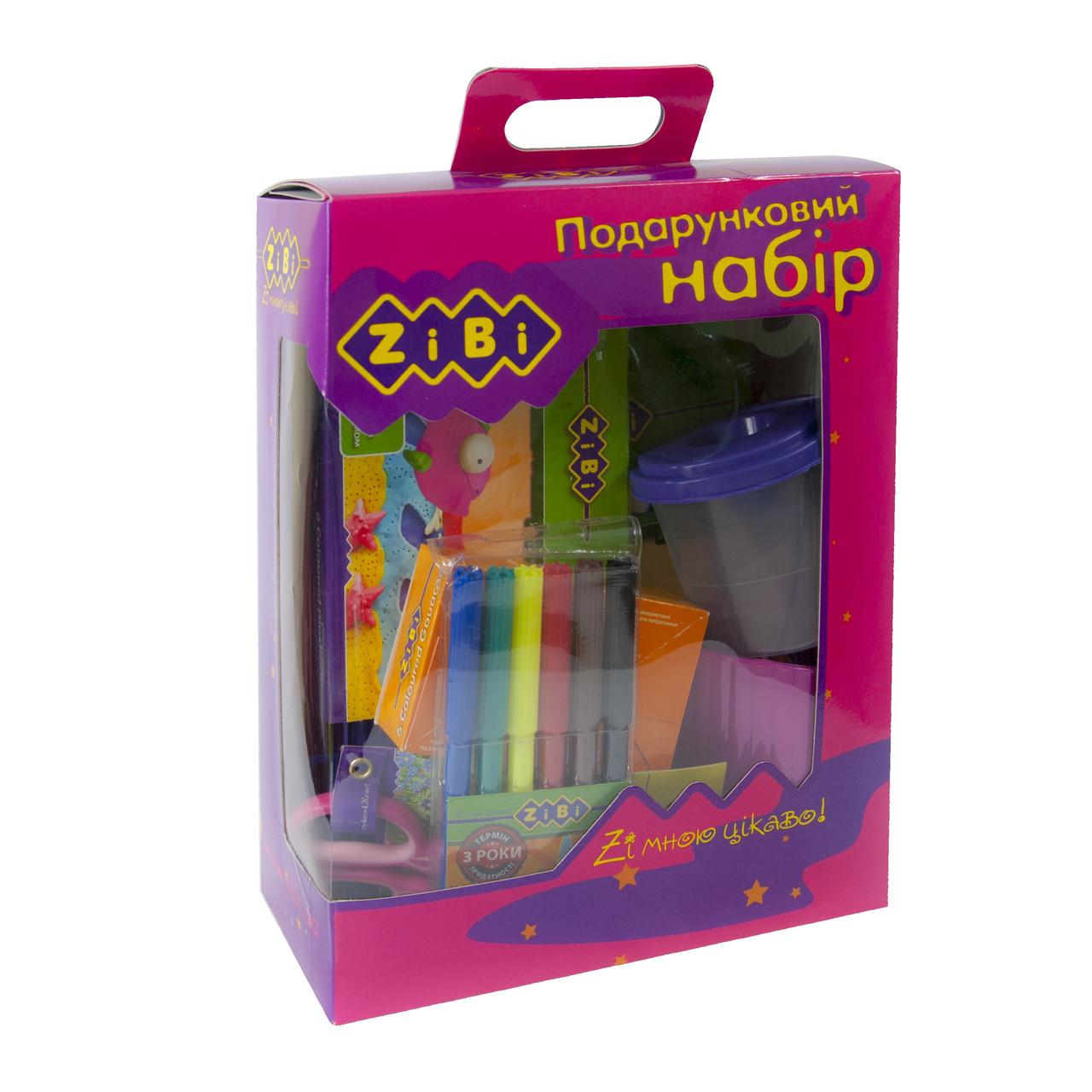 Подарочный набор для детского творчества, 13 предметов, розовый, ZIBI, ZB.9920-10, 992010