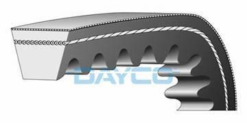 Ремень вариаторный усиленный 22,7 X 658 DAYCO 7103K, фото 2