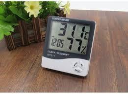 Домашняя мини метеостанция htc-1, измеряет температуру и влажность в помещении + дата/время - Сто грамм в Киеве