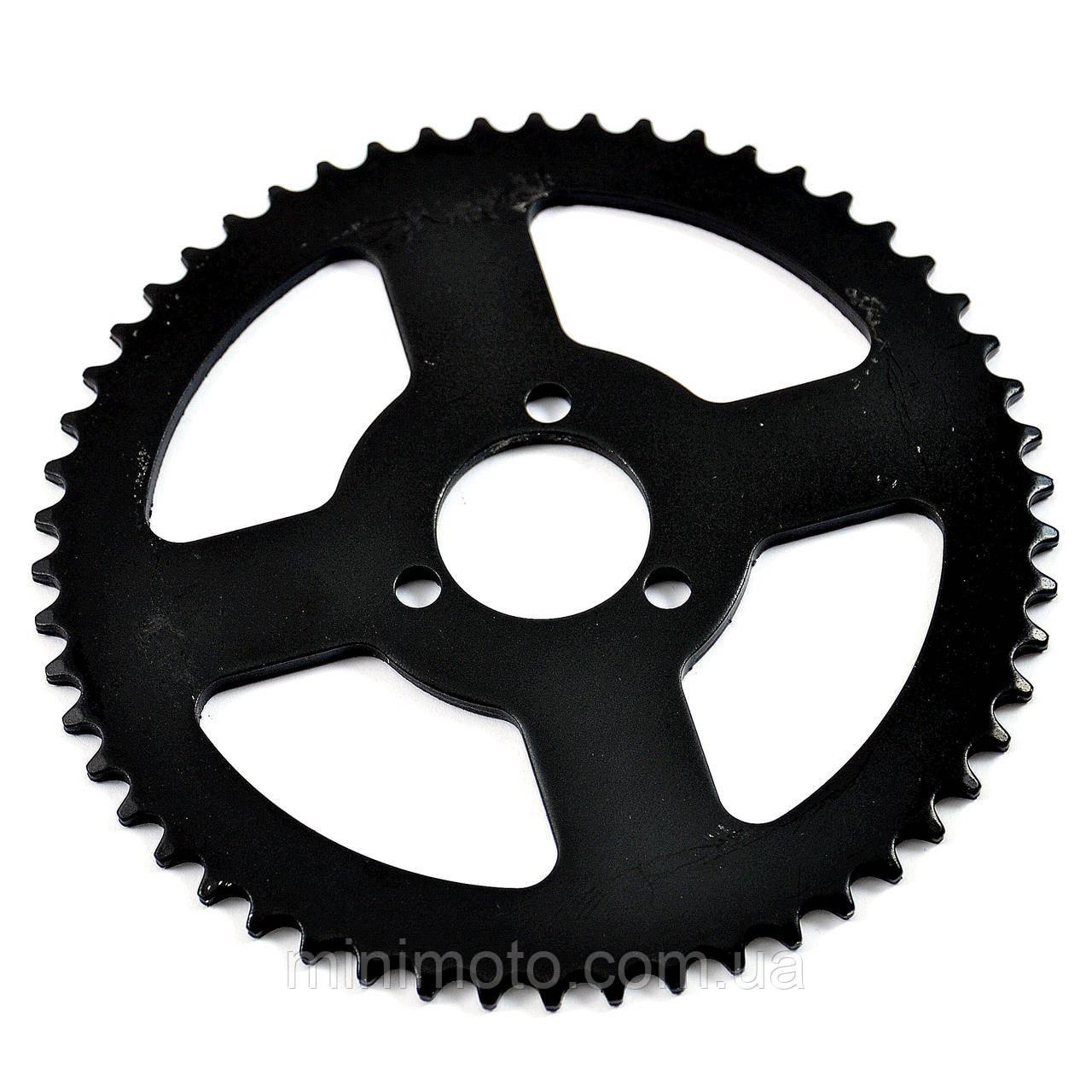 Звезда задняя минимото, детский квадроцикл T8F (D=35 mm) 54z на три болта