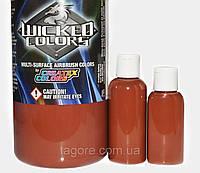 Краски для аэрографа W010 Wicked Detail Brown  (15 мл.)