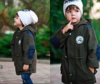 Парка детская на мальчика в расцветках 21420, фото 1