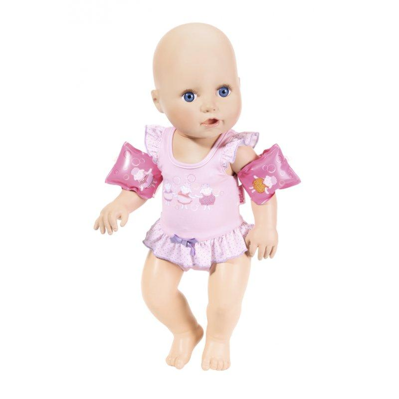 Интерактивный пупс учится плавать Baby Annabell Zapf Creation 700051