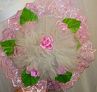 Букет для невесты - дублер розовый