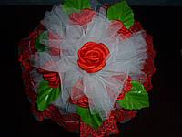 Букет для невесты - дублер красный