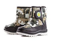 Зимняя обувь. Дутики для мальчиков оптом TJ6718-1 (8 пар, 22-27)