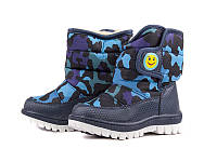 Зимняя обувь. Детские дутики для мальчиков оптом от фирмы Bessky TJ6718-2 (8 пар, 22-27)