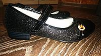 Туфли для девочки 33,37 размер. цвет чёрный