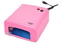 Ультрафиолетовая лампа для наращивания ногтей  Master Розовая 808 (MPL)