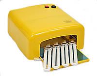 Профессиональная лампа для маникюра Master Professional MPL-18-A Золотая