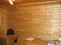 Блок-хаус ель (смерека) 85мм, 1.0-1.9м