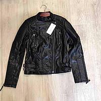 Дизайнерская куртка из кожзаменителя