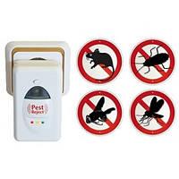 Универсальный отпугиватель pest reject, отпугивает крыс, мышей, тараканов, пауков, комаров и мух и т.д.