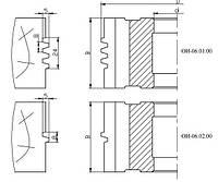Фреза для сращивания древесины ( трапеция)115х32х54