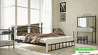 Афина Кровать на Деревянных ножках
