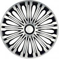 Колпаки на колеса диски для дисков R17 серо / черные Волант Колпак колеса R17