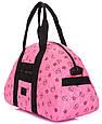 Жіноча сумка POOLPARTY Alaska alaska-ducks-pink рожева 19 л, фото 2