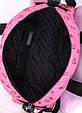 Жіноча сумка POOLPARTY Alaska alaska-ducks-pink рожева 19 л, фото 4