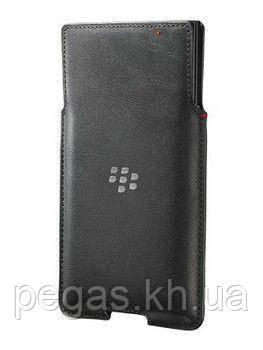 Чехол BlackBerry Priv кожаный карман. Оригинал
