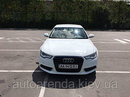 Аренда белой AUDI А6