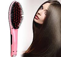 Расческа электрическая, плойка, Электрическая расческа-выпрямитель Fast Hair Straightener HQT-906