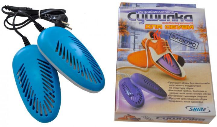Электро сушилка для обуви с антибактериальным эффектом, ультрафиолетовая, противогрибковая - Сто грамм в Киеве