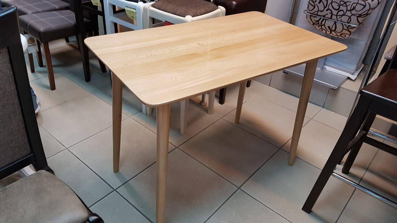 Стол Лайт натуральный деревянный не раскладной 100х60х75