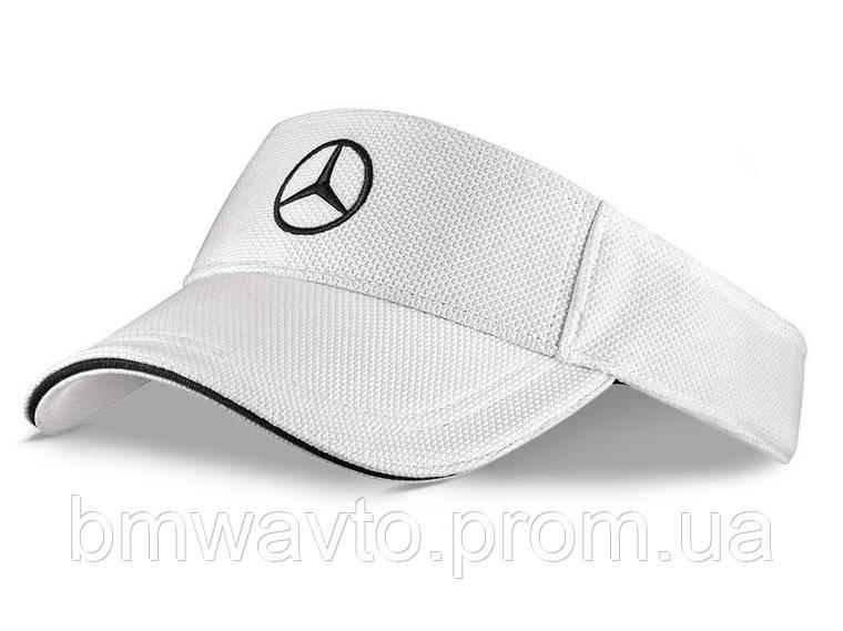 Солнцезащитный козырек Mercedes-Benz Sun Visor, Unisex, White, фото 2