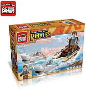 Конструктор Brick Enlighten Пиратская серия 1302 (Акулья упряжка), фото 1