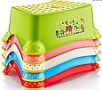 Детская подставка для ног Irak Plastik, CM-510 розовая, фото 4