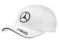 Бейсболка унисекс Mercedes-Benz F1 Unisex cap, Rosberg 2015, Signature, White