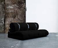 """Диван кровать""""Fanny"""" черный, бескаркасный диван, диван раскладной,маленький диван,диван трансформер."""