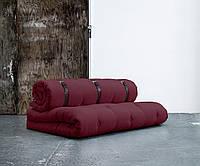 """Диван кровать""""Fanny"""" бордо, бескаркасный диван, диван раскладной,маленький диван,диван трансформер."""