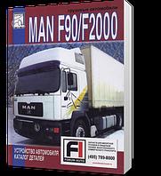 Книга / Руководство по ремонту MAN F90 / F2000 том 2 Устройство. Каталог деталей | Диез (Санкт-Петербург)