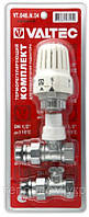 Вентиль радиаторный с термоголовкой прямой 1/2 valtec