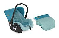 Детское автокресло LIFESAVER 0-13KG для детей с рождения до 1 года (ручка, чехол, козырек, ремни безопасн.) ТМ Lorelli