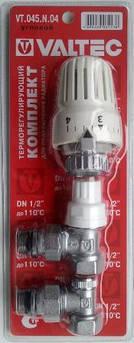 Вентиль-комплект з термостатичний кутовий 1/2 valtec