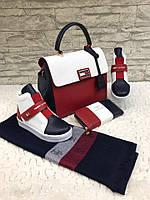 Набор: сумка, кошелек, обувь HLfiger
