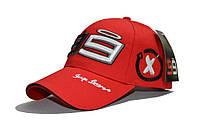 """Бейсболка (кепка) """"99"""" цвет: красный"""