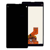 Дисплей Sony D5503 сони Xperia Z1 Compact , D5502 с тачскрином в сборе, цвет черный