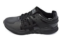 Кроссовки мужские кожаные Restime Style 17105 EOT Black