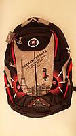 Рюкзак с плотной вентилируемой спинкой DFW, черный