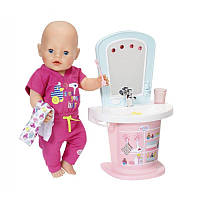 Интерактивная туалетная раковина куклы 43 см zapf 824078