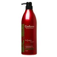 Шампунь для волос с касторовым маслом - Welcos Confume Total Hair Shampoo, 950 мл