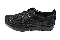 Туфли женские Polin 22 Black Sequins