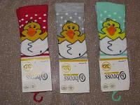 Р. 19-21 ( 6-18 мес.) Носочки для новорожденных Bross 3d